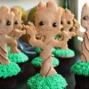 Groot Cupcake Tutorial