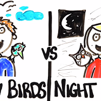 Early Birds vs. Night Owls, Who Wins?