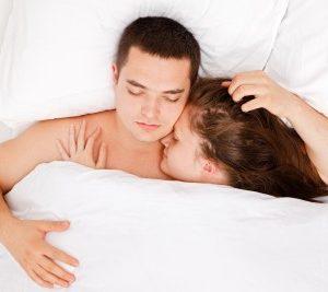 couple sleep