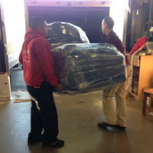 Loading Flexsteel Recliners!
