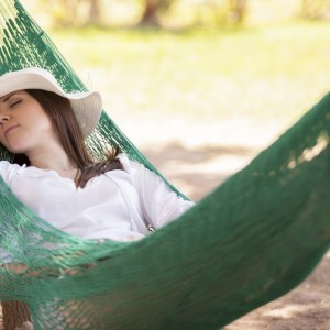 Need a Nap? Try Taking One In A Hammock
