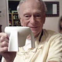 Young Girl Invents Cup for Her Grandfather with Parkinson's