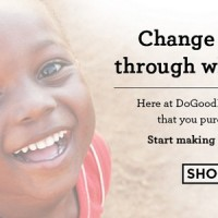 Shop For Goods That Do Good!