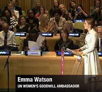 Actress Emma Watson Pushes For Equality in Powerful Speech