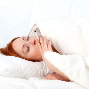 Smoking May Be The Cause Of Your Sleep Problems