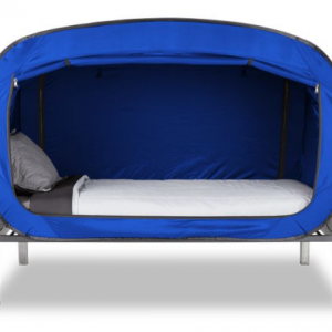Transform your bed into a secret hideout with the Bed Tent!