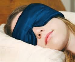A sleep mask can help you sleep better and longer!