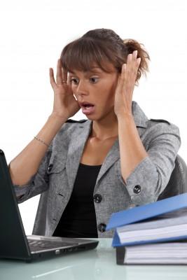 work error woman