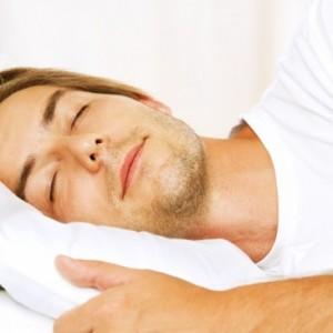 young man sleep
