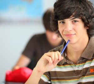 high school kid