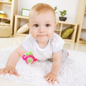 Crawling Infants Wake Up More Often At Night
