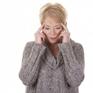 woman losing her memory from loss of sleep