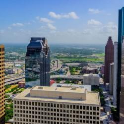 Driving around Houston